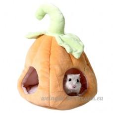 Grotte Suspendue  Legendog Chambre d Animal Familier Chaud de Forme de Citrouille Moelleux de Lit de Petit Animal pour Le Rat d écureuil de Hamster - B07BLT7WRF