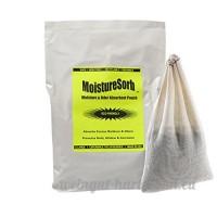 moisturesorb Pochette l'humidité et l'odeur déshydratant réutilisable?: friandises 150. M². - B01DP90IOU