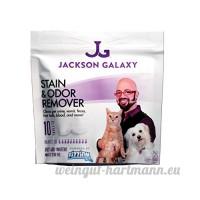 Jackson Galaxy Pet taches et odeur Eliminator par Fizzion–Élimine les pet urine et les fèces en toute sécurité avec la puissance de nettoyage professionnel de CO2(10comprimés) rend 230oz - B019YMYNR0