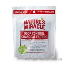 Natures Miracle anti-odeurs universel filtre à charbon  6-pack - B00BWACCA8