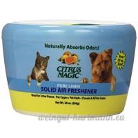 Citrus Magic pour animal domestique absorbant les odeurs Désodorisant solide - B006975FTY
