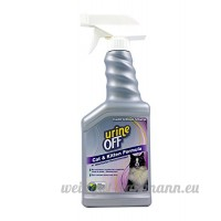Urine Off Odor and Stain Remover for Cats Sprayer Top 16.9oz by Urine Off - B001AT61IA