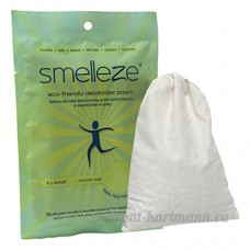 SMELLEZE Reusable Cooking Smell Removal Deodorizer Pouch: Get Odour Out Without Fragrances in 300 Sq. Ft. by Smelleze® - B01D9GX008