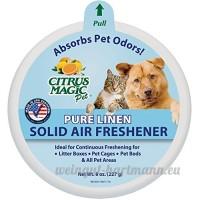 Citrus Magic pour animal domestique absorbant les odeurs Désodorisant solide - B004FEFZMK