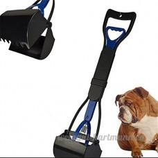 Tia-ve ramasse-crotte mâchoire déjections canines Nettoyer Pick Up déchets 24Couleur Bleue - B0753FX321