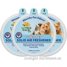 Citrus Magic animal domestique absorbant les odeurs solide Désodorisant  Lot de 3  226 8gram chaque - B00DZKHCUS