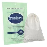 SMELLEZE Pochette Dead Animal Odeur Retrait Sport réutilisable: se débarrasser Decay odeurs sans Parfums en 150. M². - B01D5T3MRK