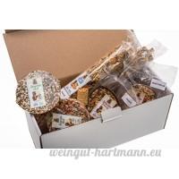 Surprise Box XL–Set de 7Les Plus populaires des collations et des friandises pour tous les rongeurs et lapins. Plus de 1500g de qualité alimentaire. - B06XTMZWFT