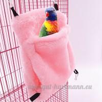 Livecity Hamac Mini Maison pour animal domestique Rat Hamster Perroquet Furet écureuil à suspendre Lit jouet - B078JXNXFD