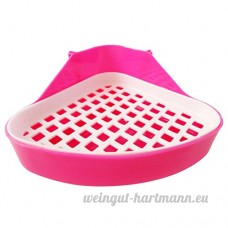 Zhuhaitf Haute Qualité Small Animal Training Toilet Hamsters Rats Triangle Toilet - B01N24G58Y