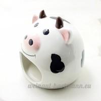 Hypeety Petit Animal Cachette en céramique Maison de bain Critter Maison Grotte Mini Cabane Cage pour chinchilla Hamster - B07D35TGGW