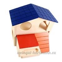 Sharplace Lit Maison de Hamster Couchage d'Eté en Résine en Forme en Maison Décoration Maison Magasin - B07BQSXMK8