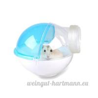 Asocea Acrylique pour animal domestique Hamster de salle de bain Animal de petite taille de bain Maison pour hamster souris gerbille et d'autres petits animaux à fourrure - B07BFQ4RQS