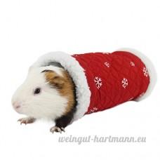Zhaoke Portable Petit Animal Tunnel pour petits animaux de hamster Hérisson Cochon d'Inde d'exercice Jeu Jouet pour animal domestique Tube - B078YJNYJ6