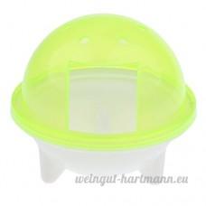 Sharplace Boîte Salle de Bain pour Hamster en Plastique - Jaune - B078W9RKLL