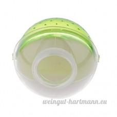 perfk Salle de Bain Toilettes pour Hamster - vert - B077VC83Z4