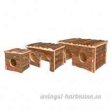 Arquivet 8435117862333–Maison pour rongeurs petite taille 15x 15x 14cm - B06W5234ZC