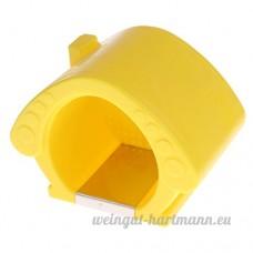 Homyl Couchage de Hamster Froid en Plastique Jouet d'Exercice - B07D3SGV6W