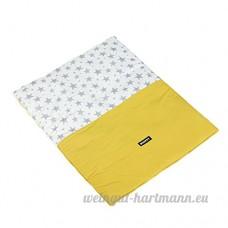 CS Tapis de lit pour chat Tapis de lit Matelas Non collant Impression de couverture de cheveux ( Color : Yellow   Size : M:87*67CM ) - B078RG6FHB