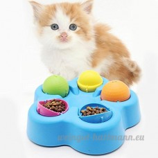 Domybest mignon pour animaux chiens formation Toys manger Boisson bols Mangeoire pour chien chat animaux Fournitures - B078LYWGFN