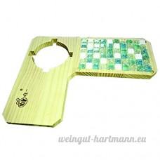 Bois Animal de petite taille SE reposer et l'alimentation des plate-forme sur la cage pour animal domestique Hamster - B073FCB1HL