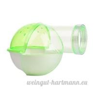 awhao Hamster Salle de Bains Toilettes pour Petits Animaux Chinchilla Cochon d'Inde Rongeur Vert - B07253DMNY