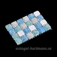 Hamster de Refroidissement Mat en Plastique Pet Cooling Pad pour Chinchilla et Petits Animaux et Cobayes par Awhao M - B071RL7D55