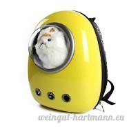 Candora® Voyage à bulles pour animal domestique Sac à dos 4G LTE avec fenêtre de dôme pour chats et chiens de petite taille - B06XTMGCMP