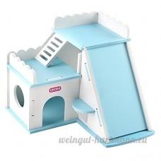 Carno PVC Multi Espace Fun House d'exercice pour animal de petite taille (couleur varie) - B01N5G2CL2