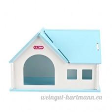 Carno PVC Maison de luxe avec grand espace pour hamster (couleur varie) - B01MA5GL4Y