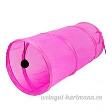 Roblue Tubes et Tunnels pour Chats Pliable Chiens Petits Animaux Multi-couleur en Option en Tissu 50x25CM - B07D1HYP5J