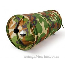 Pawz Road Tunnel/Tubes Pour Cat/Chaton Jouet Pour Chat (Camouflage 50x25cm) - B00LNTKWGY