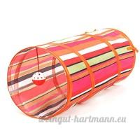 CSNMALL Jouet Multifonctionnel De Tunnel De Chat Multi-couleur Facultatif Léger Et Facile À Rassembler ( Color : Orange ) - B07BFTY4XY