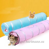 upxiang Animal Chat Jouer Tunnel chat deux voies Tunnel chat Tunnel longue chaton drôles jouer Jouet Animaux besoins - B076S7H7VB