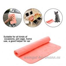 Rongeur Animaux Hamster Absorbent Serviettes avec Effet Anti-moisissure Anti-bactérien pour Petits Animaux par Awhao - B07253DQ4R