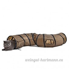 Tunnel Chat  Jouets pour Chat Chien Petits Animaux 25 * 130cm - B06ZYJPH48