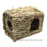 Happy Pet Cachette pour petits animaux d'herbe séchée - B004BFVIA6