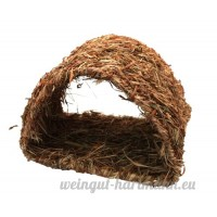 Happy Pet (nature first) Small Animal Home Grassy Tunnel - B004BFX5V6