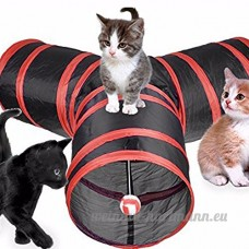 CWDYP Jouets chat drôle chat dragon rolling tunnel canal tunnel tente pliante chat chat drôle ball cat supplies chat drôle jouets 01 - B07BTPSKGY