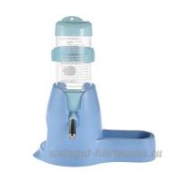 Yunt 80ml Distributeur pour Petit Animal avec Mangeoire pour Alimentation et Petite Niche pour Reposer pour Hamster (Bleu) - B073XJ6BVG
