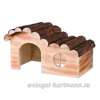 Trixie Natural Living Maison Hanna en bois flammé Souris et Hamsters - B0721W18K1