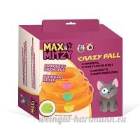 Passat Jouet pour chat Crazy Ball de Max&Mitzy - B078BQHJH8