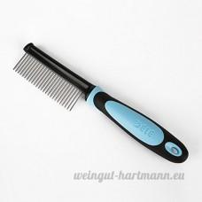Mers Syria Animal de fourrure de Grooming shedding/de brosse peigne Mélangeur Barre/chien/stylo métal long cheveux courts de chat Peigne - B07BKPB6VH