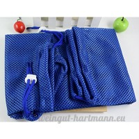 Zhhlaixing Fournitures pour animaux Cat Bath Mesh Nail Ear Cleaning Bags Adjustable Multifunctional Cat Grooming Bag - B0749GS483