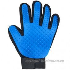 Pet MYYXT Gant Toilettage Massage Gel de silice polyester gauche et à droite Gant - B0746K7C6B