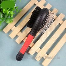 double-massage Brosse de bain Peigne de toilettage - B01D4N8VQO