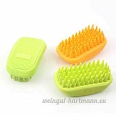 Pet Brosse de bain de massage de bain - B01D4N8MSQ