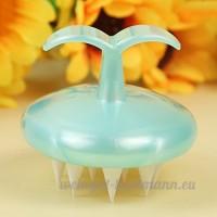 Gel de silice Pet peigne brosse de massage de bain - B01D4N8M90