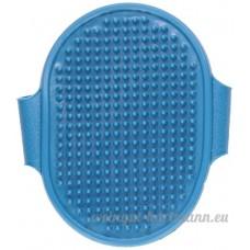 Sourcingmap caoutchouc Pet fourrure Cheveux Toilettage de bain brosse de massage Peigne  Cyan - B012T4CTDU