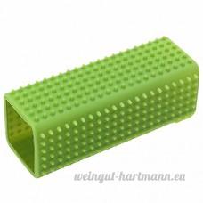 2 pcs chien chiot Chat baignoire sabot pinceau doux cheveux épilation Outil Green - B077N7PTCC